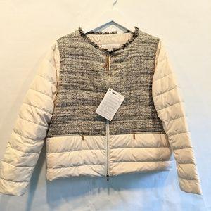 Fabiana Filippi short down jacket XL BNWT